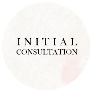 wedding planner initial consultation services