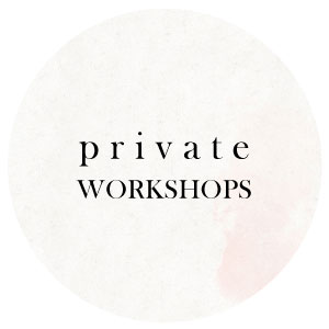 private DIY custom creation workshops