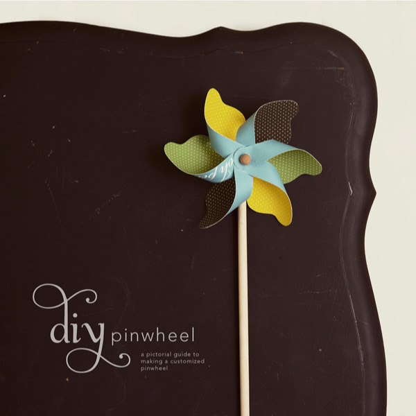 DIY Artsy Pin Wheel Weddings