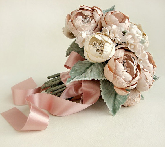 Etsy Handmade Wedding Bouquet