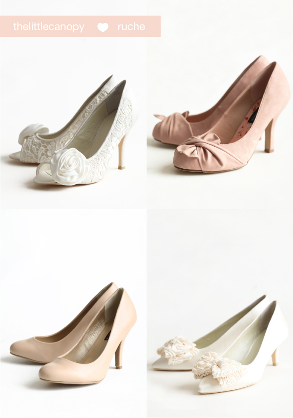 Wedding shoes and Wedding Pumps