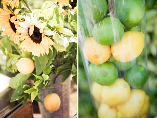 Artsy Vintage Rustic Sunflower Wedding