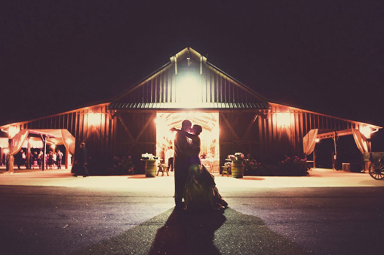 Romantic Vintage Rustic Barn Wedding