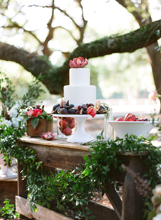 Artsy Simple Rustic Country Wedding Inspiration