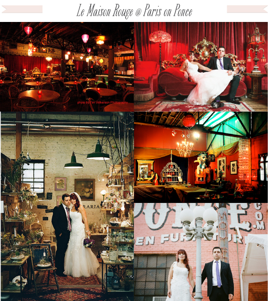 Artsy Vintage Wedding Venue in Atlanta