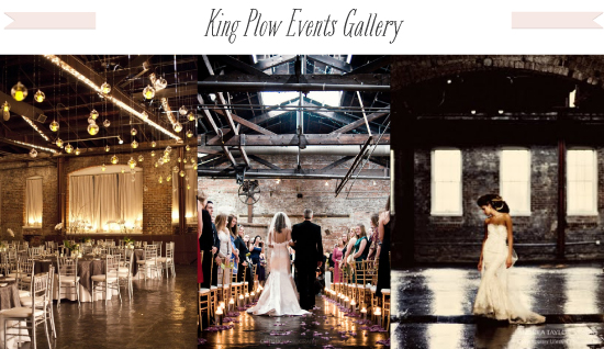 Artsy Rustic Warehouse Wedding King Plow Events Gallery