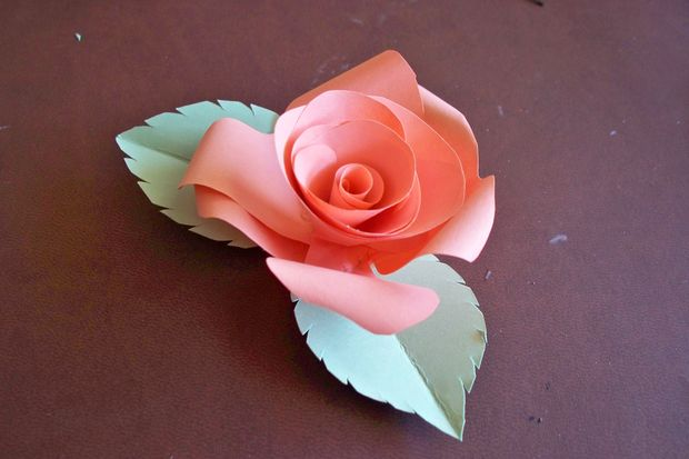 How to make paper roses instructions