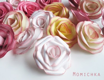 How to make paper roses tutorials