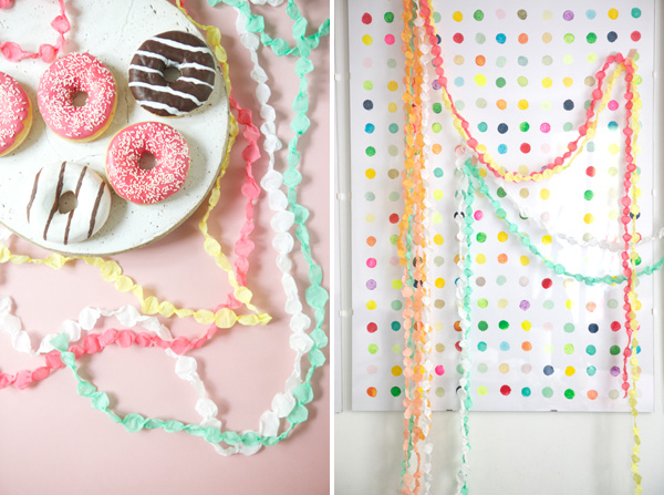 DIY Artsy Handmade garland tutorial