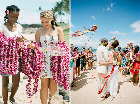 DIY Artsy Rustic Intimate Beach Wedding