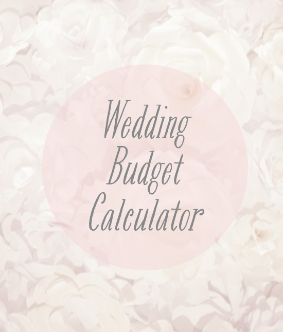 Wedding Budget: Perak Wedding Expo: DIY Wedding Budget Calculator