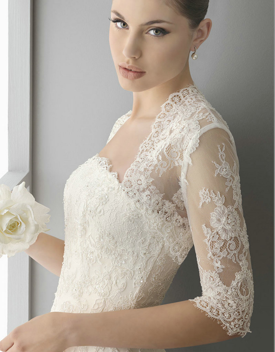 The little canopy artsy weddings indie weddings for Wedding dress lace bolero