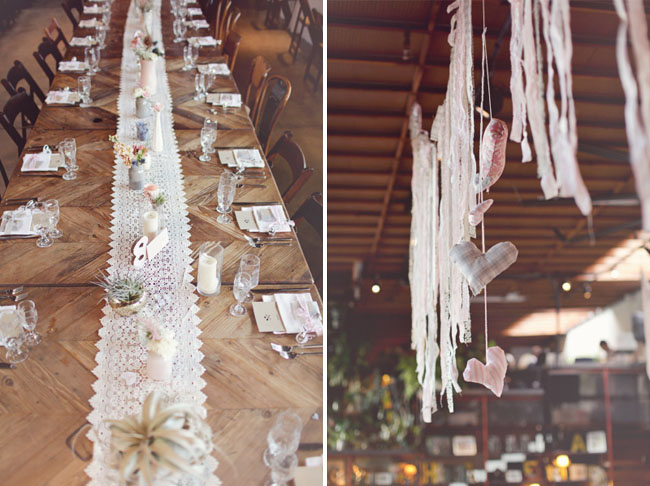 How wedding wedding Archive romantic lace runner » Weddings » paper Blog themed  make to a table