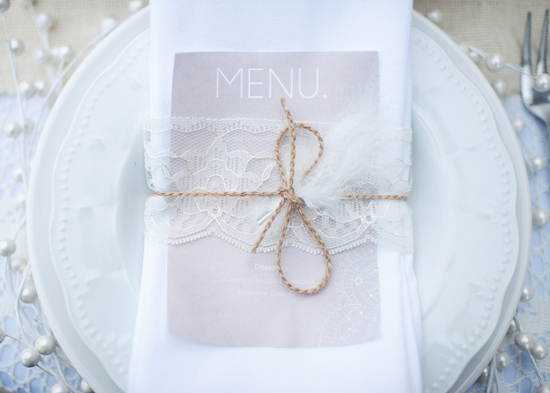how to vintage romantic lace wedding place setting