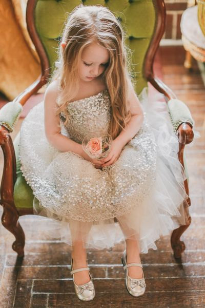 Artsy Handmade Cute Flower Girl Dresses