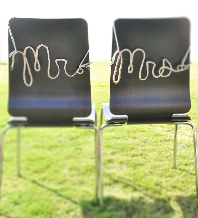 DIY: Rope Words for Your Wedding Day
