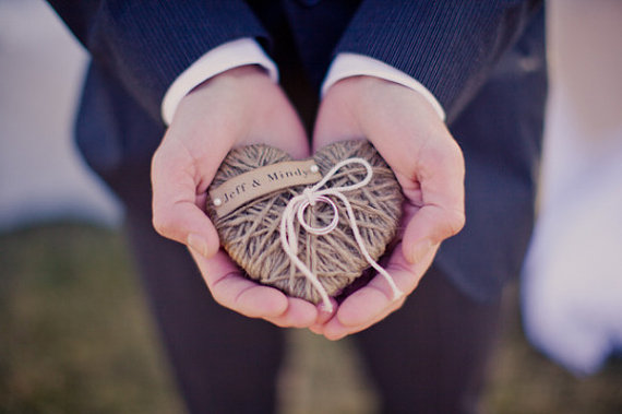 Artsy Etsy Handmade Wedding Ring Pillow Ring Dish Ring Bearer