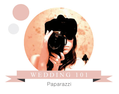 Wedding 101 Etiquette on Photography