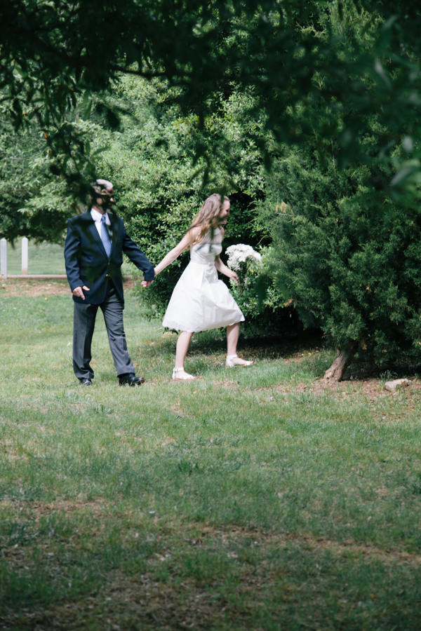 Minimalist, eco, DIY, Grant Park Wedding