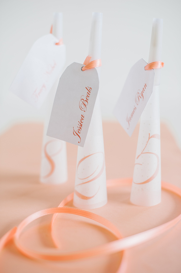 wedding diy for noise makers, name cards, and seating table numbers in one easy project