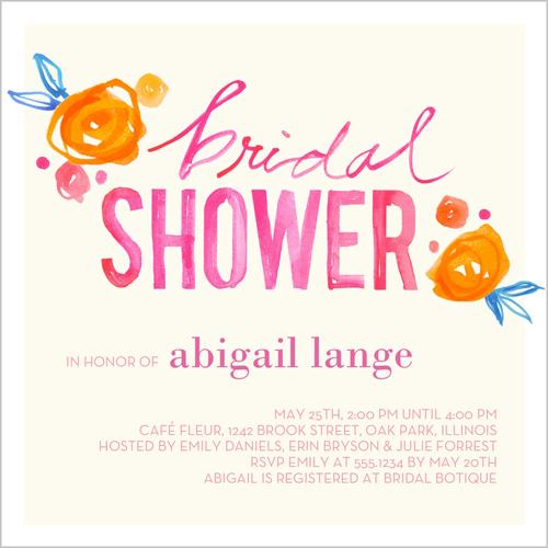 Shutterfly DIY Decor For The Modern Bridal Shower