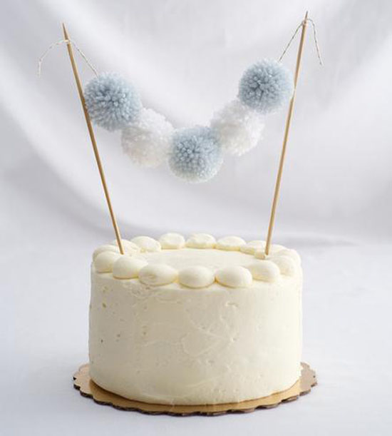 Simple, yet cute! This cake topper is a great way to decorate any cake for any occasion!