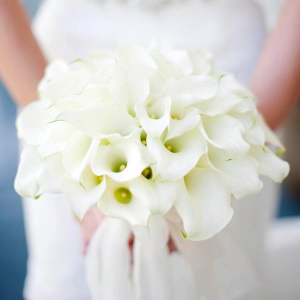 wedding flowers calla lilies