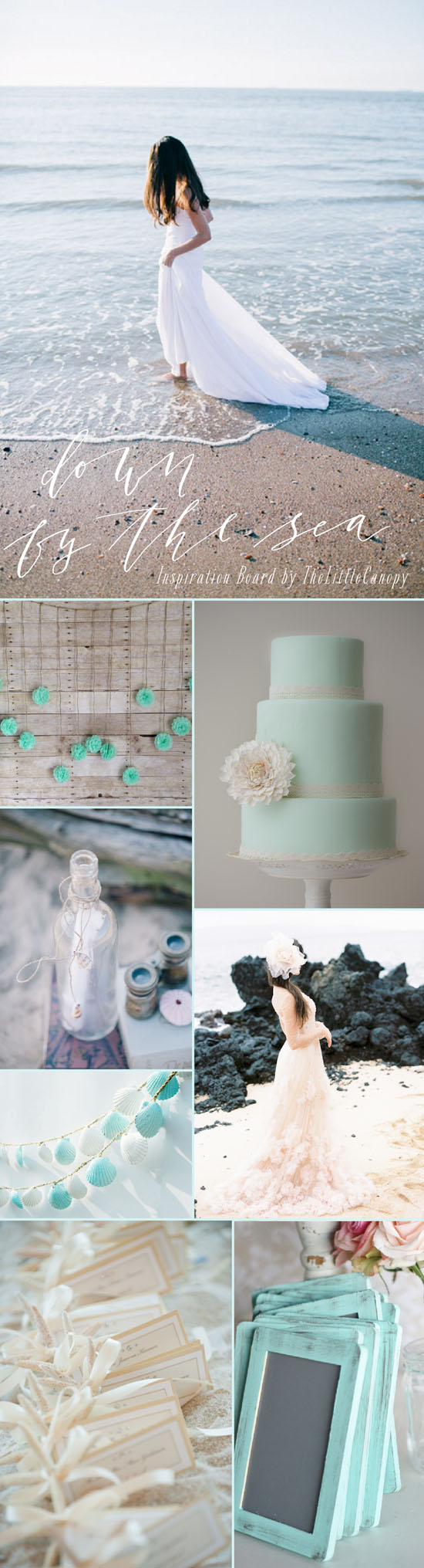 Day dreaming of a wedding down by the sea... by the beautiful sea. Enjoy!