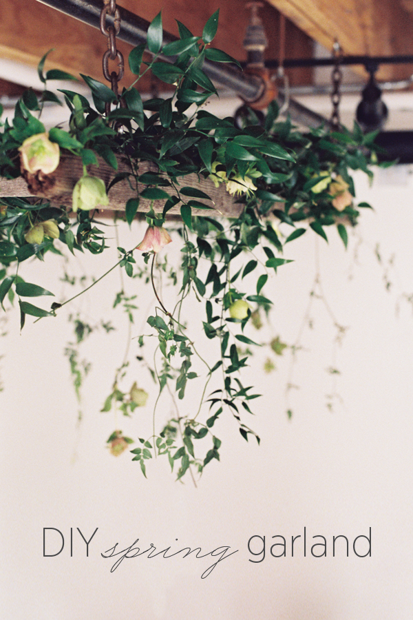 wedding-diy-spring-tutorial-garland-ladder