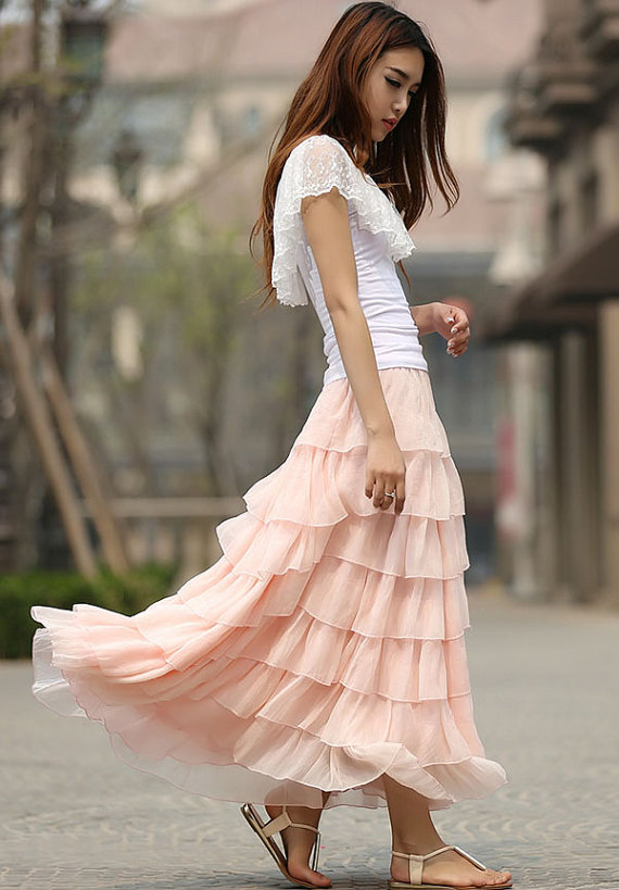 wedding-favorites-pink-layered-tulle-skirt