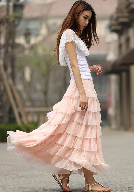 wedding-favorites-pink-layered-tulle-skirt