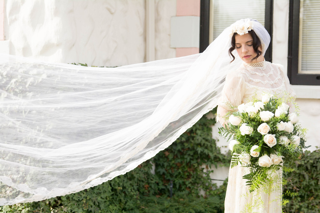 100 years century bridal gowns trends
